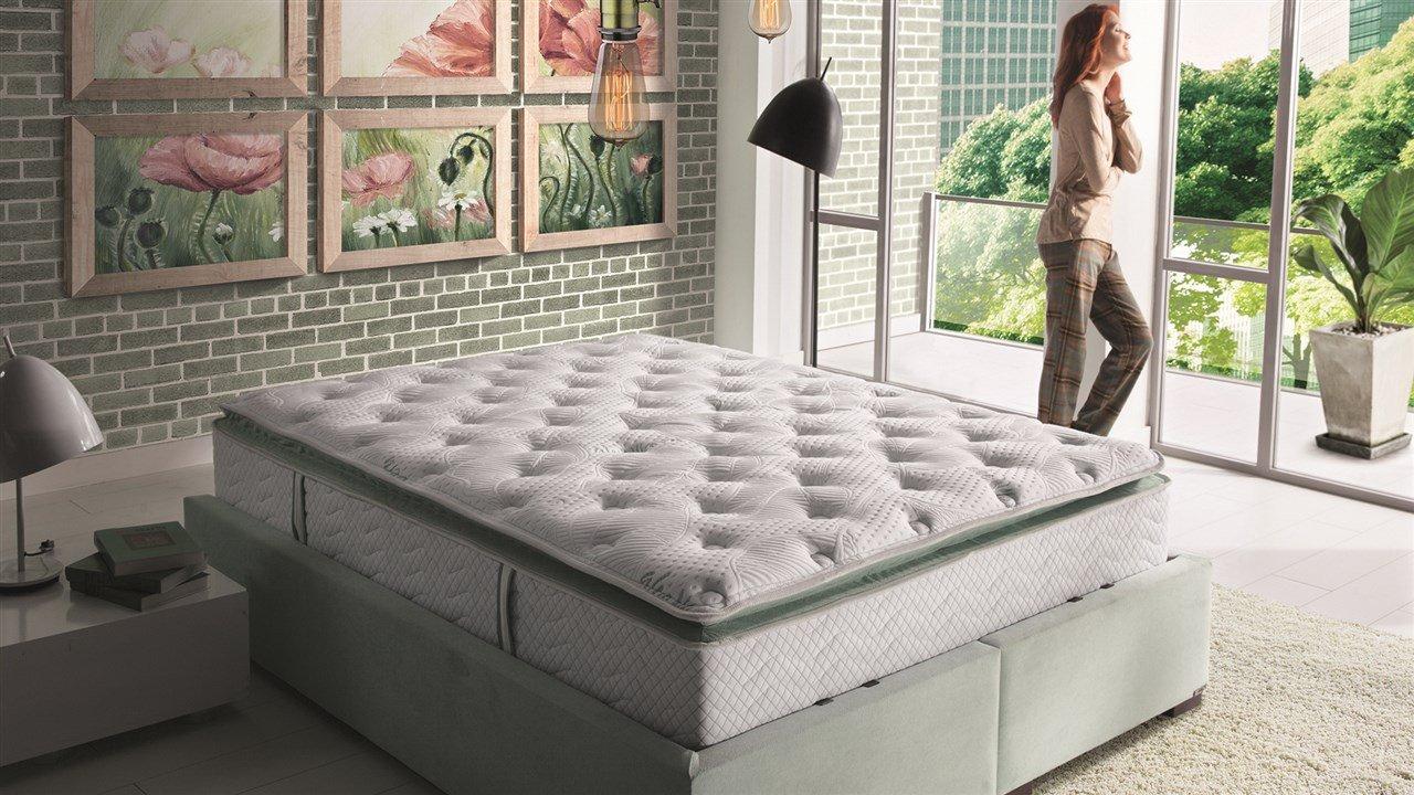 aloe vera pillow top mattress